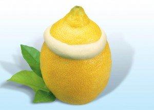 "Мороженое во фруктах ""Лимон"" Alacant"