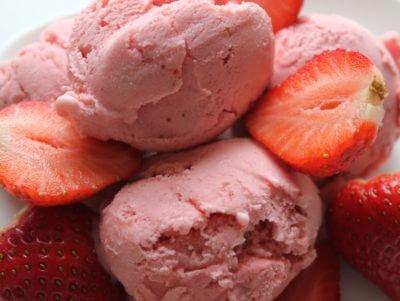 Мороженое Юбилейное Клубничное 3кг Dolce Latte