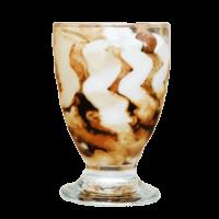 Итальянское мороженое кофе со сливками Michielan