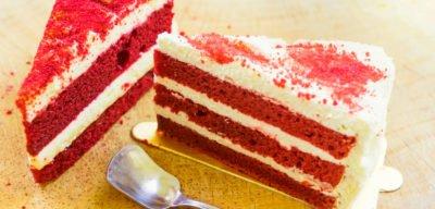 Торт Красный бархат 12 порций Россия