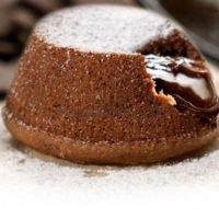 Пирожное Шоколадное суфле Испания
