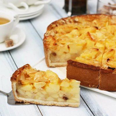 Яблочный пирог 12 порций Россия