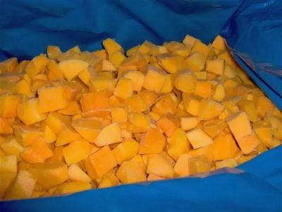 Манго 10 кг  слайсы (кубик)