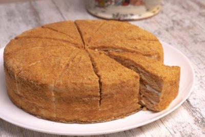 Торт Медовик 12 порций Россия