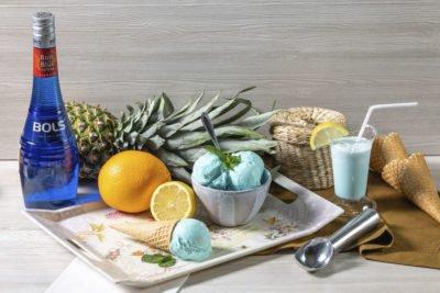 Голубая Маргарита – alc 3% (Blue Margarita) Алкогольное мороженое 18+