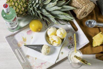 Пина Колада – alc 3%  Алкогольное мороженое 18+
