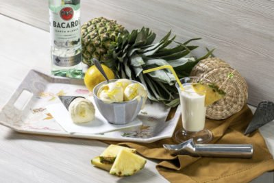 Пина Колада – alc 3%  Алкогольное мороженое 18+ Доставка только по предварительному заказу.