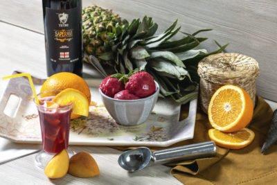Сангрия – alc 3% Алкогольное мороженое 18+