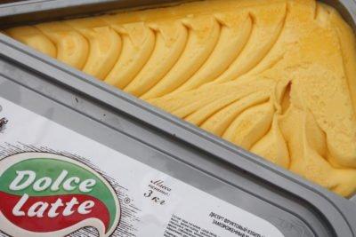 Мороженое сорбет манго 3кг Dolce Latte
