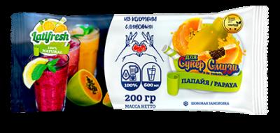 Замороженная мякоть  Папайя Россия